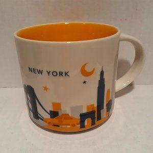 Starbucks 2016 You Are Here Mug - New York